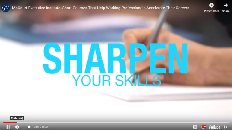 Shour Courses video screenshot - text is