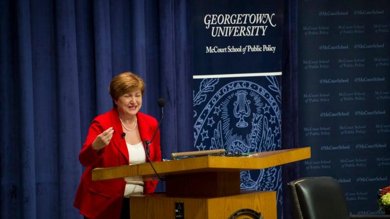 Dr. Kristalina Georgieva Delivers 2018 Whittington Lecture