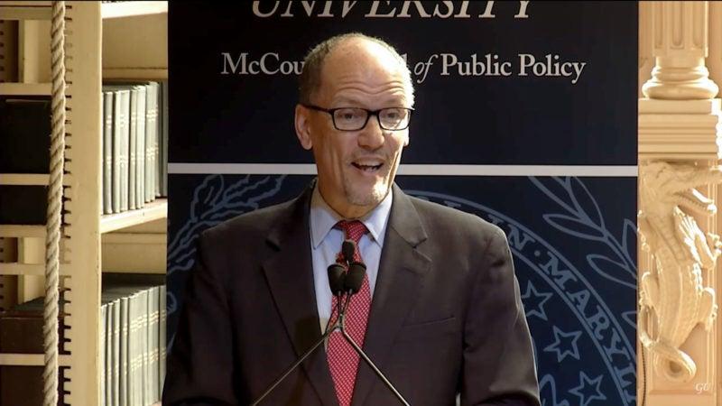 The Whittington Lecture with U.S. Secretary of Labor Thomas Perez