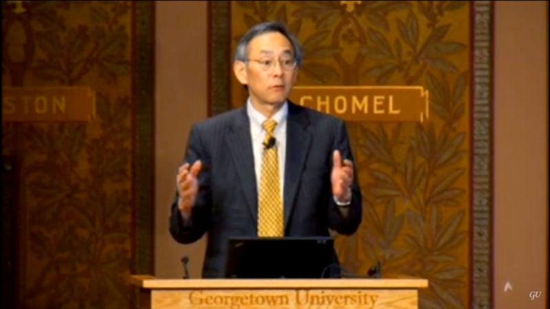Secretary of Energy Dr. Steven Chu Delivers 2010 Whittington Lecture