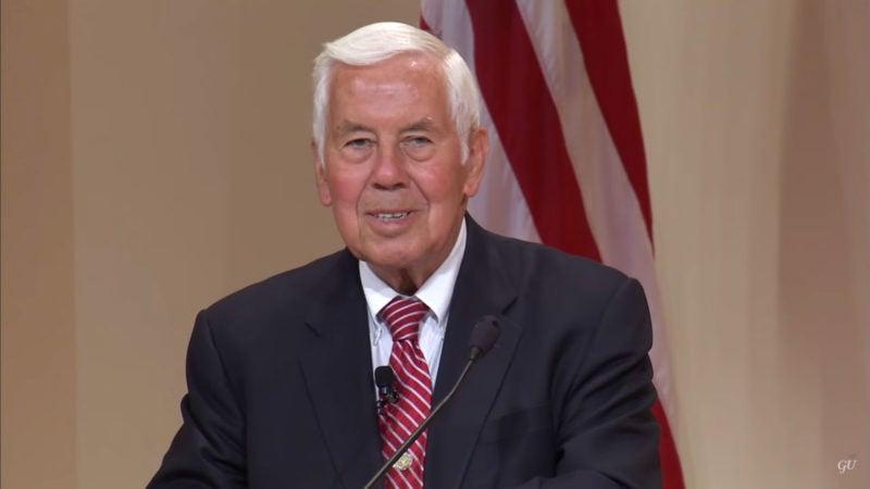 Sen. Richard Lugar Delivers 2013 Whittington Lecture