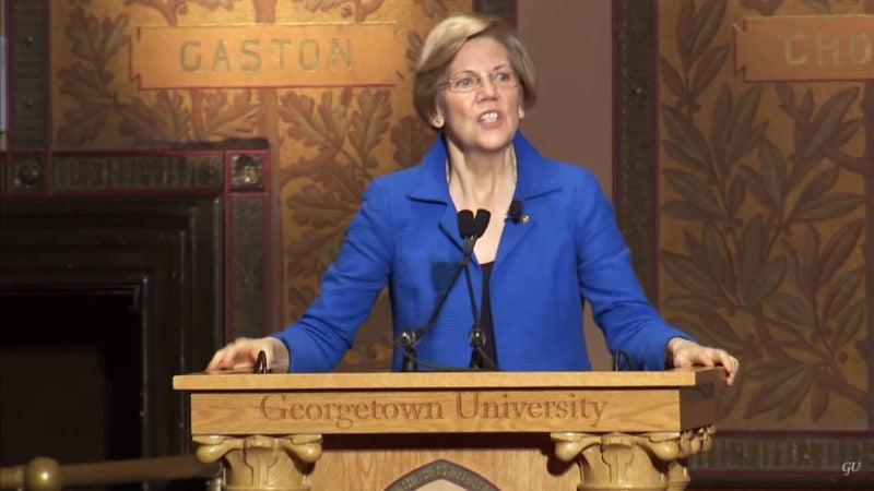 Sen. Elizabeth Warren Delivers 2014 Whittington Lecture