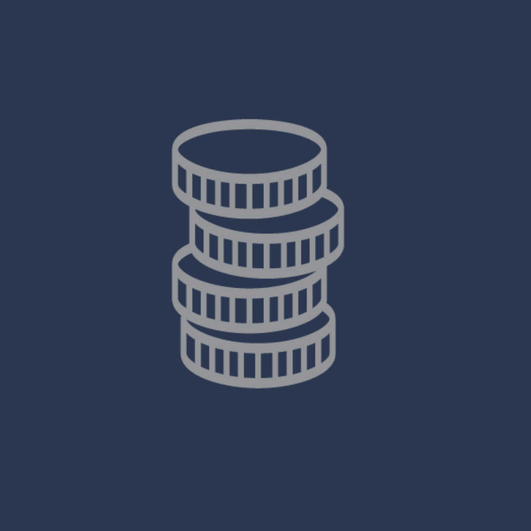 vector image of stacked coins