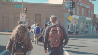 Image of students walking in Anacostia