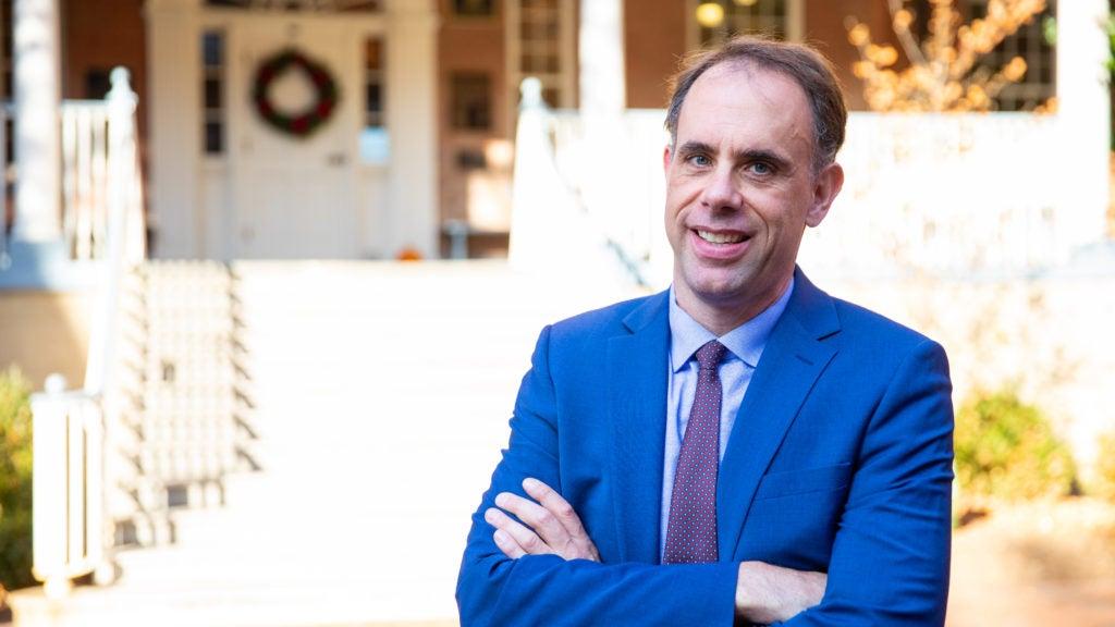 Image of Michael Bailey in Dahlgren Quad