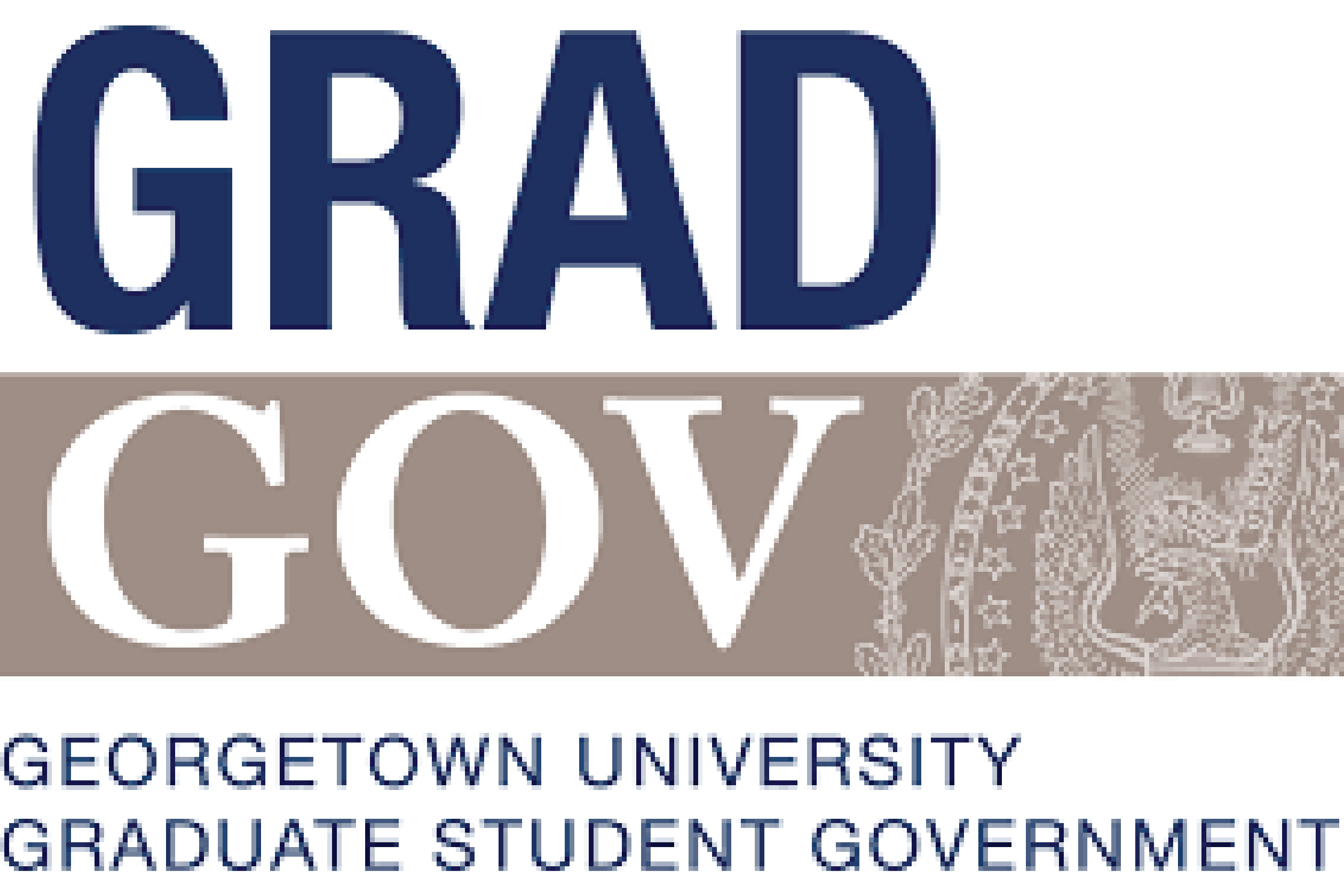 Georgetown University Graduate Student -- Government Grad GOV logo