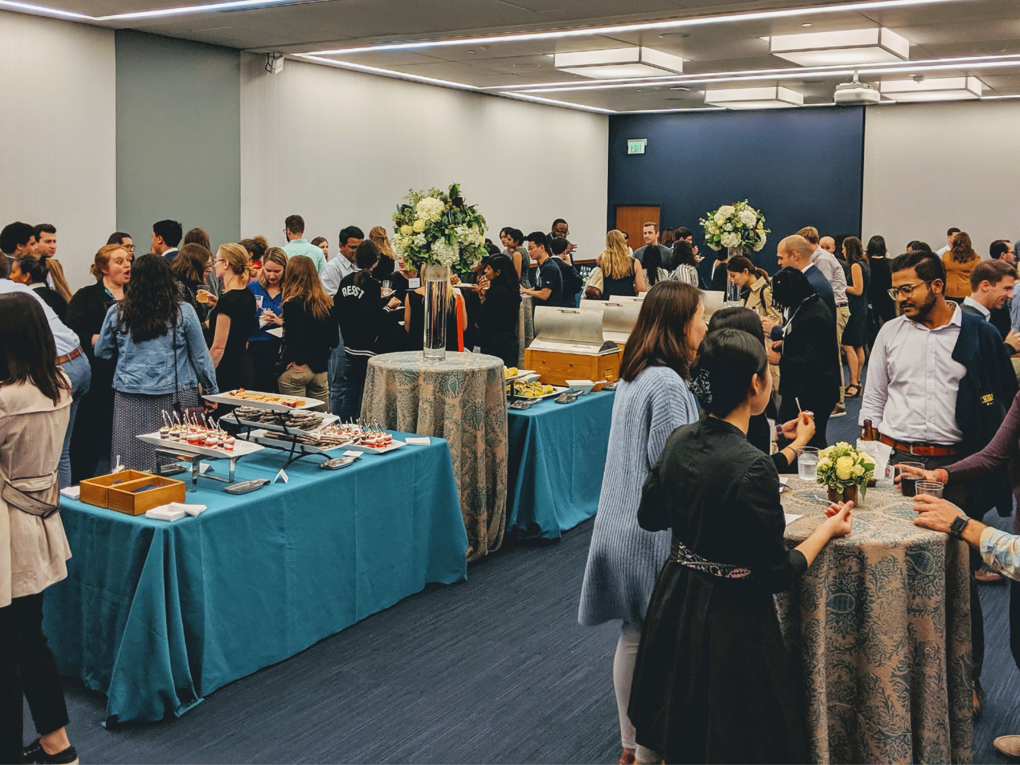 Picture from the 2019 Annual McCourt School networking night