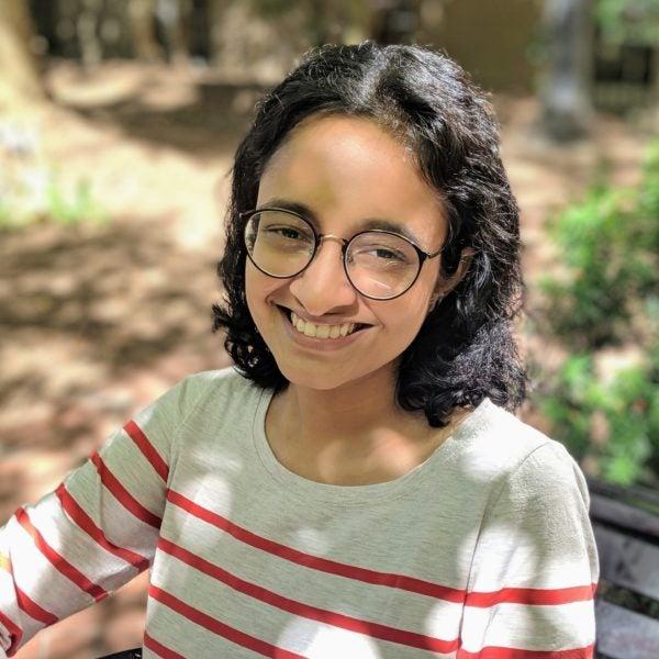 Headshot of Shweta Parvathy