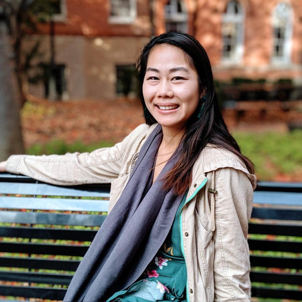 Portrait of Frances Chen