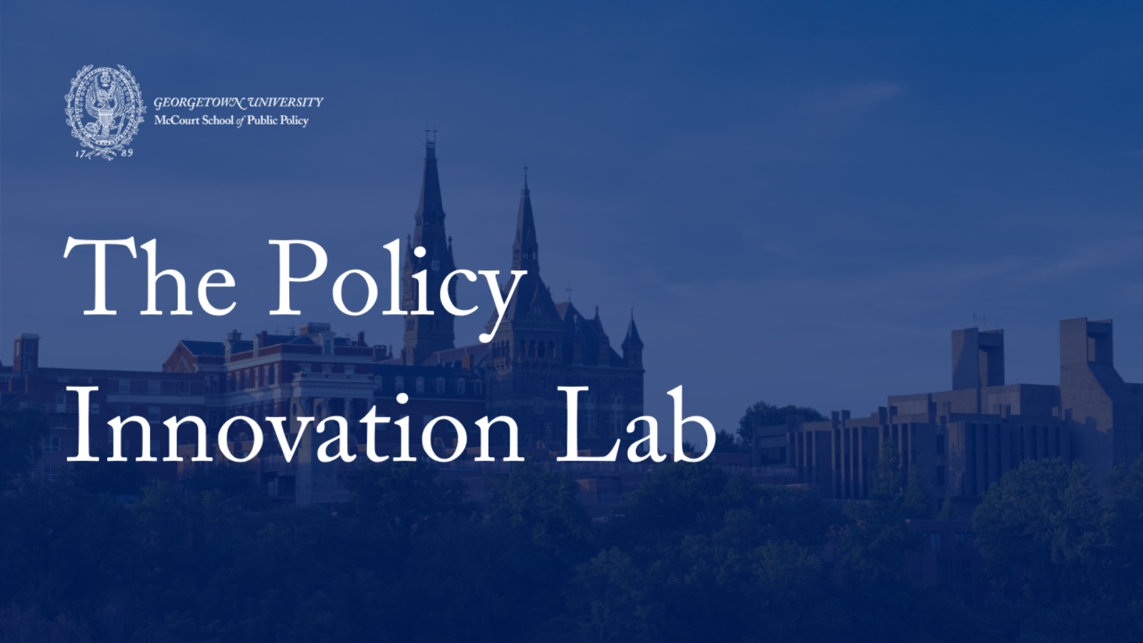 Policy Innovation Lab logo - image used as entry to video link