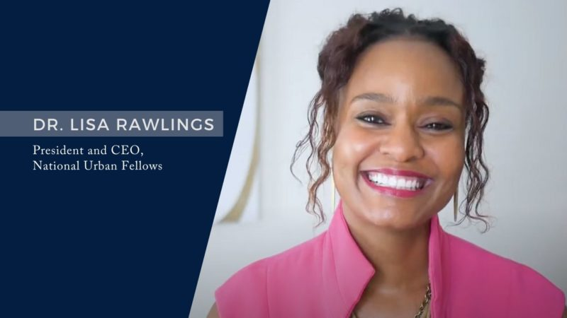 Dr. Lisa Rawlings Named President and CEO of the National Urban Fellows