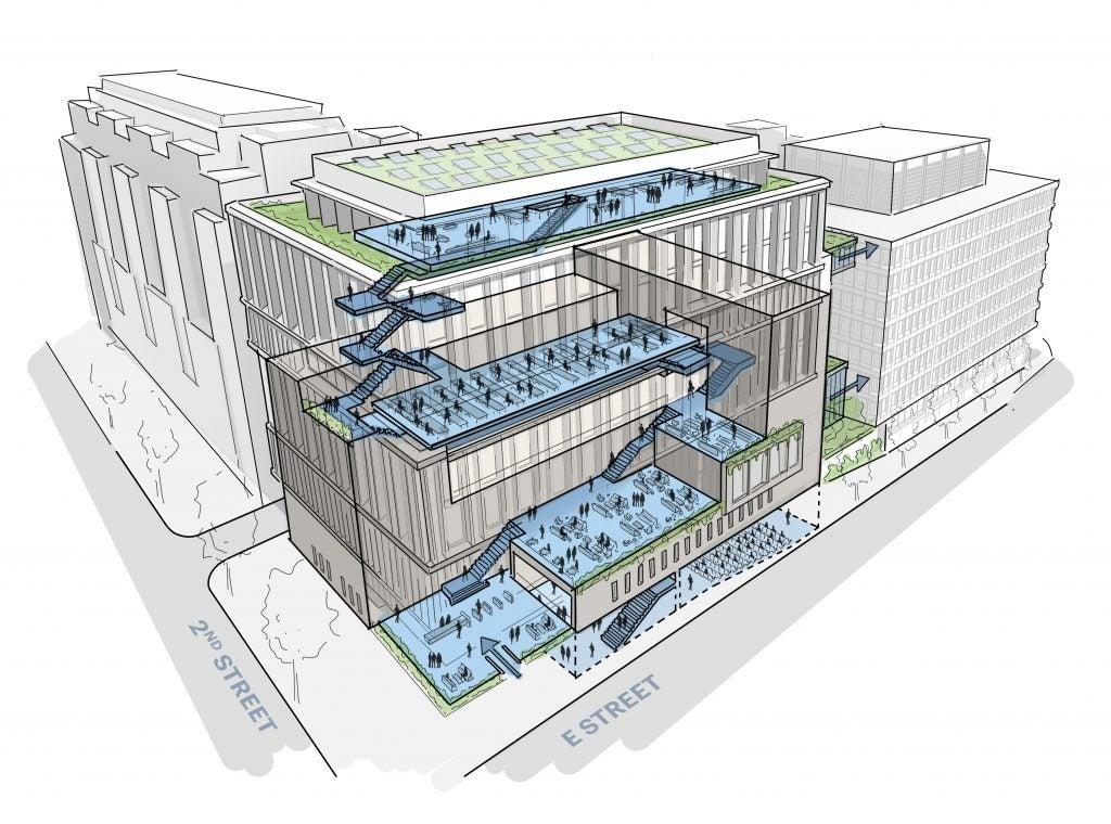 New McCourt School building