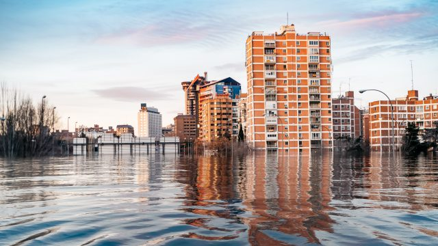 Image of city flooding