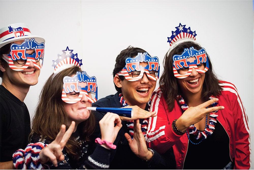 Image of students celebrating